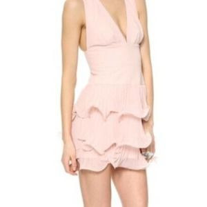BCBGMAXAZRIA Priscilla Dress Dusty Pink Size 2